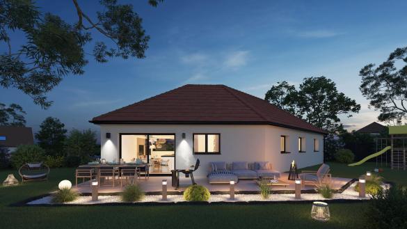 Maison+Terrain à vendre .(100 m²)(ESTEVILLE) avec (Maison Castor Rouen)