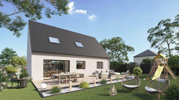 Maison+Terrain à vendre .(113 m²)(AUZEBOSC) avec (Maison Castor Rouen)