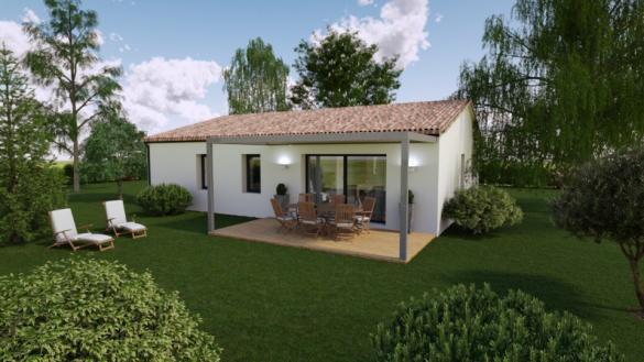 Maison+Terrain à vendre .(100 m²)(TROIS PALIS) avec (BERMAX CONSTRUCTION)