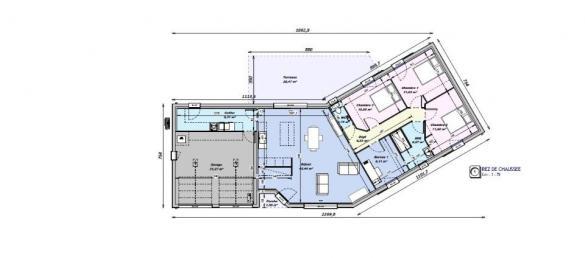 Maison+Terrain à vendre .(110 m²)(SOYAUX) avec (BERMAX CONSTRUCTION)