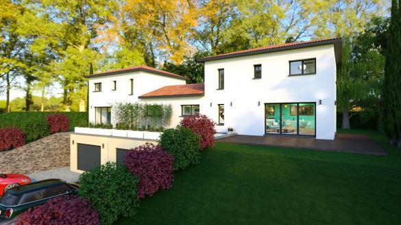 Maison+Terrain à vendre .(130 m²)(BEAUREGARD) avec (MAISONS VIVRE PLUS)