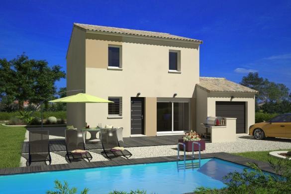 Maison+Terrain à vendre .(78 m²)(PUICHERIC) avec (MAISONS FRANCE CONFORT)