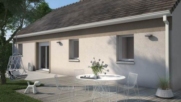 Maison+Terrain à vendre .(76 m²)(MOULT) avec (MAISONS FRANCE CONFORT)