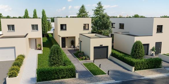 Maison+Terrain à vendre .(90 m²)(BONS TASSILLY) avec (MAISONS FRANCE CONFORT)