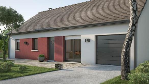 Maison+Terrain à vendre .(76 m²)(SAINT AIGNAN DE CRAMESNIL) avec (MAISONS FRANCE CONFORT)