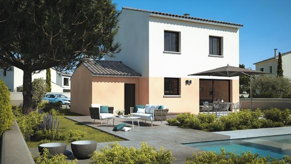 Maison+Terrain à vendre .(80 m²)(LA DESTROUSSE) avec (LES MAISONS DE MANON)