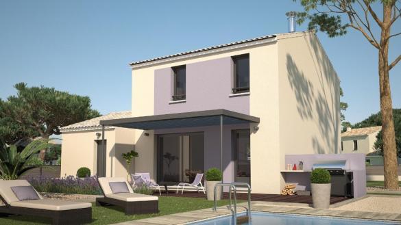 Maison+Terrain à vendre .(88 m²)(MEYRARGUES) avec (LES MAISONS DE MANON)
