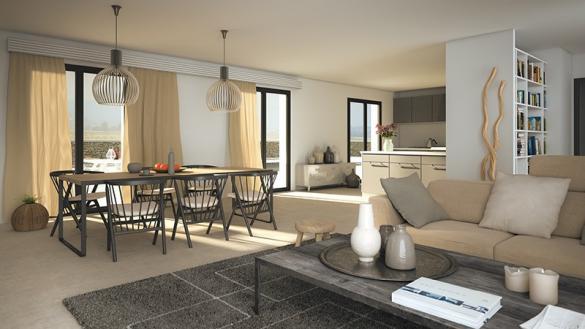 Maison+Terrain à vendre .(160 m²)(LUYNES) avec (LES MAISONS DE MANON)