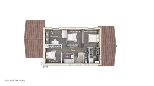 Maison+Terrain à vendre .(120 m²)(LAMBESC) avec (LES MAISONS DE MANON)