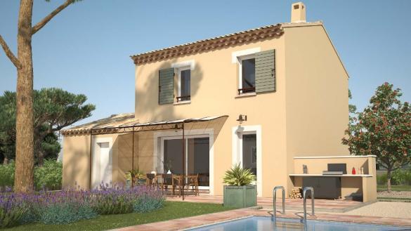 Maison+Terrain à vendre .(78 m²)(LA MOTTE D'AIGUES) avec (LES MAISONS DE MANON)