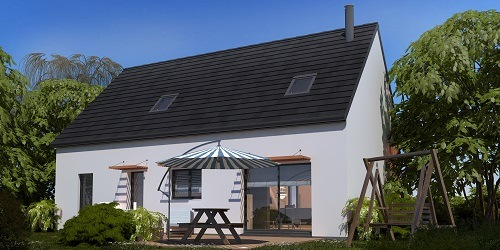 Maison+Terrain à vendre .(93 m²)(GOURNAY EN BRAY) avec (HABITAT CONCEPT)