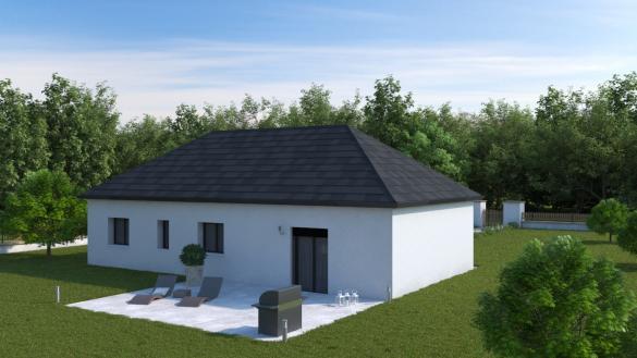 Maison+Terrain à vendre .(92 m²)(LE THIL) avec (HABITAT CONCEPT)