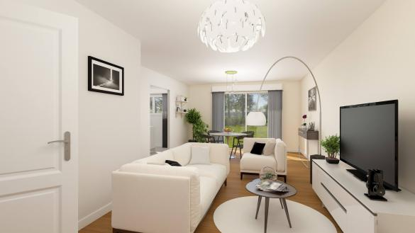 Maison+Terrain à vendre .(85 m²)(GISORS) avec (HABITAT CONCEPT)