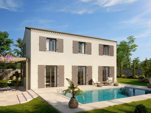 Maison+Terrain à vendre .(100 m²)(SAUVETERRE) avec (ART ET TRADITION MEDITERRANEE)