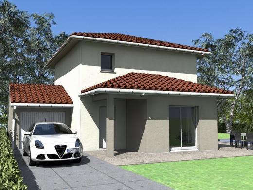Maison à vendre .(85 m²)(ALIGNAN DU VENT) avec (MAISONS COTE SOLEIL 34)
