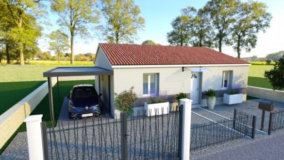 Maison à vendre .(73 m²)(TREBES) avec (MAISONS COTE SOLEIL 11)