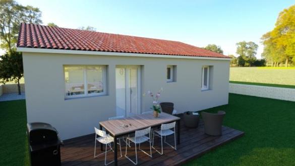 Maison à vendre .(73 m²)(VILLARZEL DU RAZES) avec (MAISONS COTE SOLEIL 11)