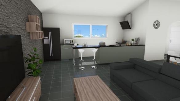 Maison à vendre .(110 m²)(PENNAUTIER) avec (MAISONS COTE SOLEIL 11)