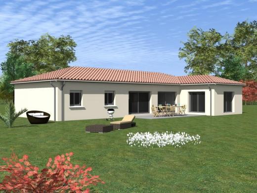 Maison à vendre .(140 m²)(CAUSSADE) avec (MAISONS COTE SOLEIL 82)