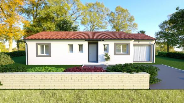 Maison à vendre .(81 m²)(SAINT PAUL SUR SAVE) avec (ESQUISS BEAUZELLE)