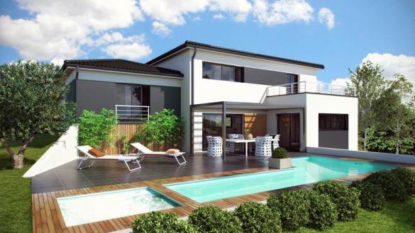 Maison à vendre .(120 m²)(BLAGNAC) avec (ESQUISS BEAUZELLE)