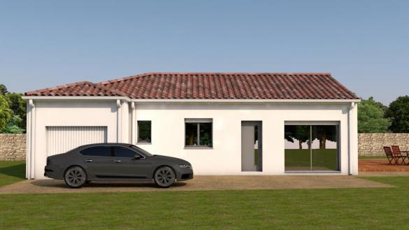Maison à vendre .(95 m²)(MONDONVILLE) avec (ESQUISS BEAUZELLE)