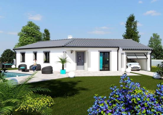 Maison à vendre .(120 m²)(CASTELNAU D'ESTRETEFONDS) avec (ESQUISS BEAUZELLE)