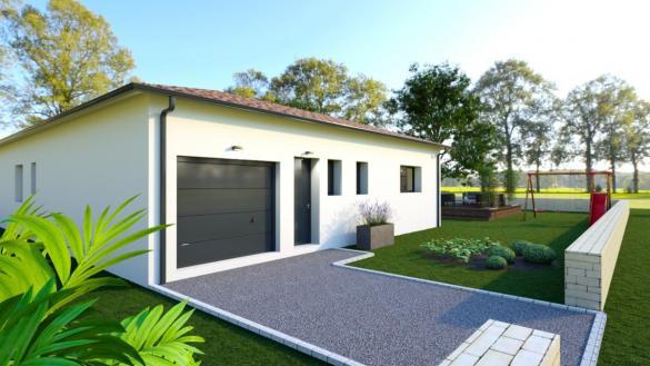 Maison à vendre .(110 m²)(GRAGNAGUE) avec (ESQUISS BEAUZELLE)