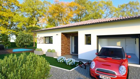 Maison à vendre .(115 m²)(CASTELNAU D'ESTRETEFONDS) avec (ESQUISS BEAUZELLE)