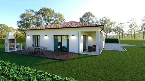 Maison à vendre .(110 m²)(FONTENILLES) avec (ESQUISS BEAUZELLE)