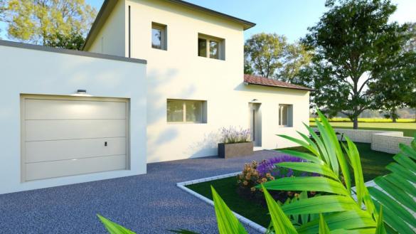 Maison à vendre .(110 m²)(CASTELNAU D'ESTRETEFONDS) avec (ESQUISS BEAUZELLE)
