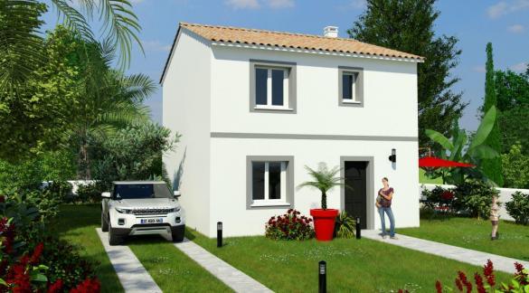 Maison à vendre .(90 m²)(PERPIGNAN) avec (MAISONS COTE SOLEIL 66)