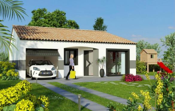 Maison à vendre .(80 m²)(SALEILLES) avec (MAISONS COTE SOLEIL 66)