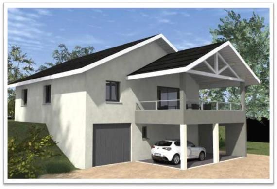 Maison à vendre .(99 m²)(ONNION) avec (COTRIN 74)
