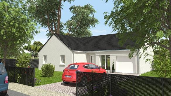 Maison à vendre .(85 m²)(CHATEAUNEUF SUR LOIRE) avec (MAISONS CPR)