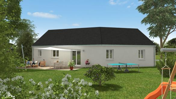 Maison à vendre .(98 m²)(PARCAY MESLAY) avec (MAISONS CPR)