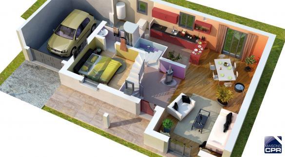 Maison à vendre .(96 m²)(MONTBAZON) avec (MAISONS CPR)