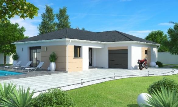Maison+Terrain à vendre .(90 m²)(VONNAS) avec (MAISONS AXIAL - BOURG EN BRESSE)