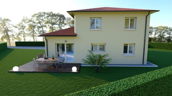 Maison+Terrain à vendre .(130 m²)(PONT DE VAUX) avec (MAISONS AXIAL - BOURG EN BRESSE)