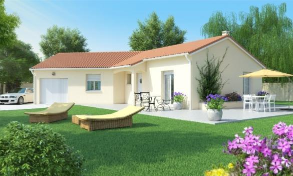 Maison+Terrain à vendre .(90 m²)(PONT DE VAUX) avec (MAISONS AXIAL - BOURG EN BRESSE)