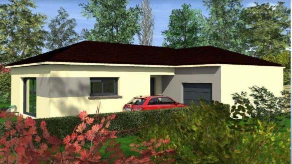 Maison à vendre .(90 m²)(ANDANCETTE) avec (PAVILLONS CREATION 26)