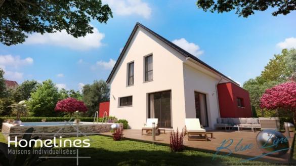 Maison à vendre .(110 m²)(DONNENHEIM) avec (HOMELINES)