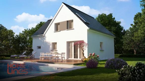 Maison à vendre .(121 m²)(MARCKOLSHEIM) avec (HOMELINES)
