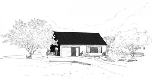 Maison à vendre .(88 m²)(OZOIR LA FERRIERE) avec (MAISONS PIERRE)