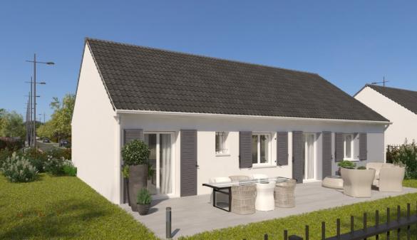 Maison à vendre .(90 m²)(GOUSSAINVILLE) avec (MAISONS PIERRE)