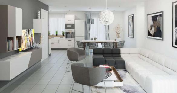 Maison à vendre .(89 m²)(MAUBEUGE) avec (MAISONS PIERRE)