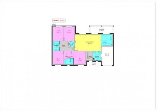 Maison à vendre .(115 m²)(OSSE) avec (MAISONS PIERRE)