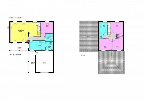 Maison à vendre .(129 m²)(FRASNE) avec (MAISONS PIERRE)