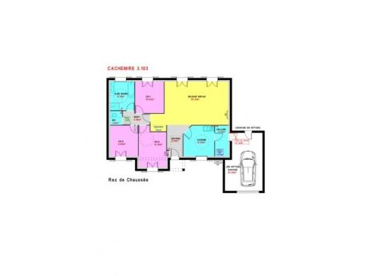 Maison à vendre .(103 m²)(EPEUGNEY) avec (MAISONS PIERRE)