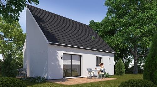 Maison+Terrain à vendre .(89 m²)(MONCEAUX EN BESSIN) avec (HABITAT CONCEPT)